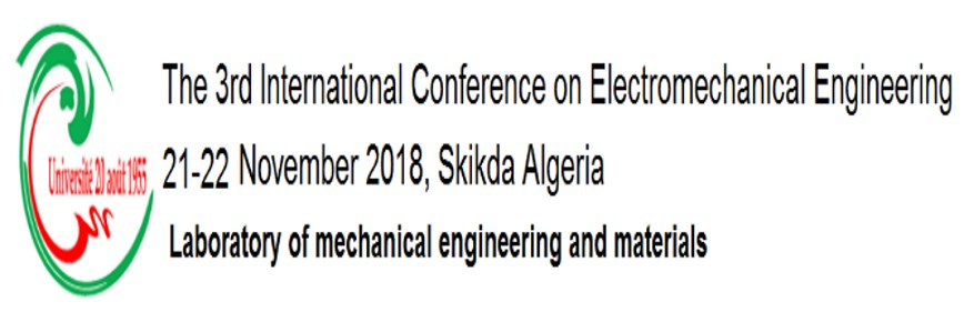 The 3rd International Conference on Electromechanical Engineering (ICEE'2018), November 21-22
