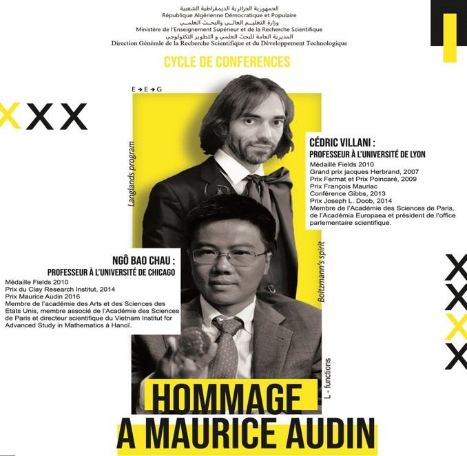 CYCLE DE CONFERENCES  – HOMMAGE A MAURICE AUDIN –