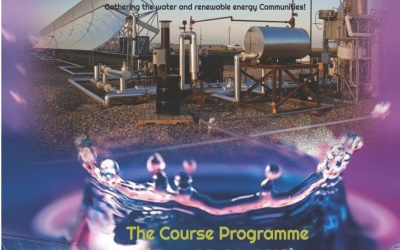 Two-Day Intensive Course on Solar Driven Desalination and Water Purification, Gathering the Water and Renewable Energy Communities, March 25th and 26th