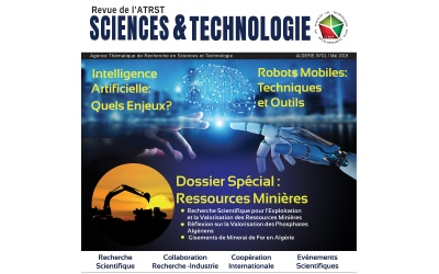 Revue de l'ATRST Sciences & Technologie N°1/ Mai 2019