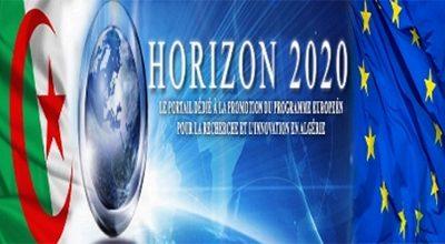 Mise en place d'un site web dédié au H2020 en Algérie