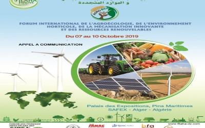 Forum International de l'agroécologie, de l'environnement horticole, de la mécanisation innovante et des ressources renouvelables