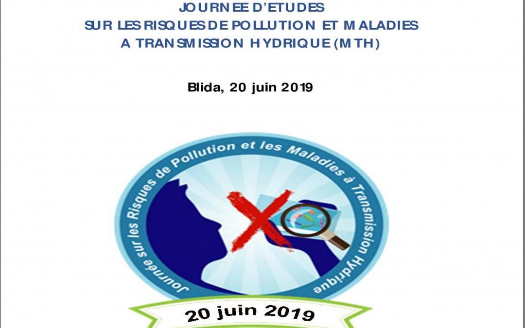 Journée d'études sur les risques de pollution et maladies a transmission hydrique (mth), le 20 Juin 2019