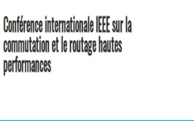 IEEE International Conference on High Performance Switching and Routing 7-9 June 2021 / Paris, France